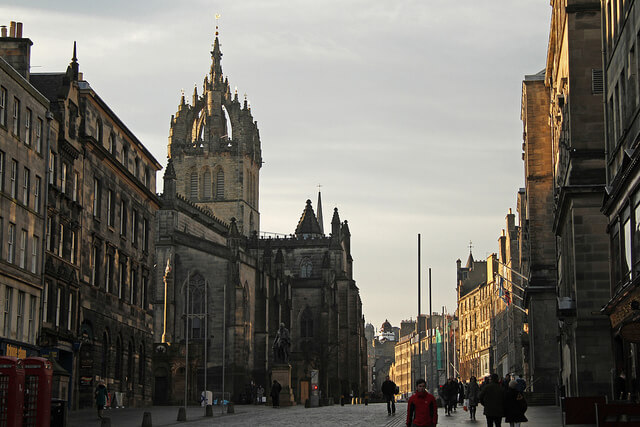 Royal Mile, Edimburgo