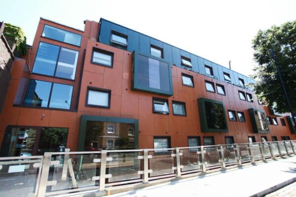 Residencia en Camden Town