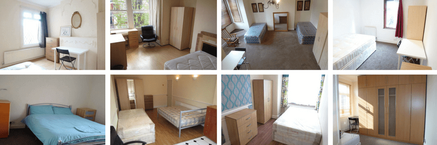 Habitaciones en pisos compartidos en Londres