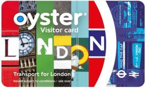 OysterCard visitante
