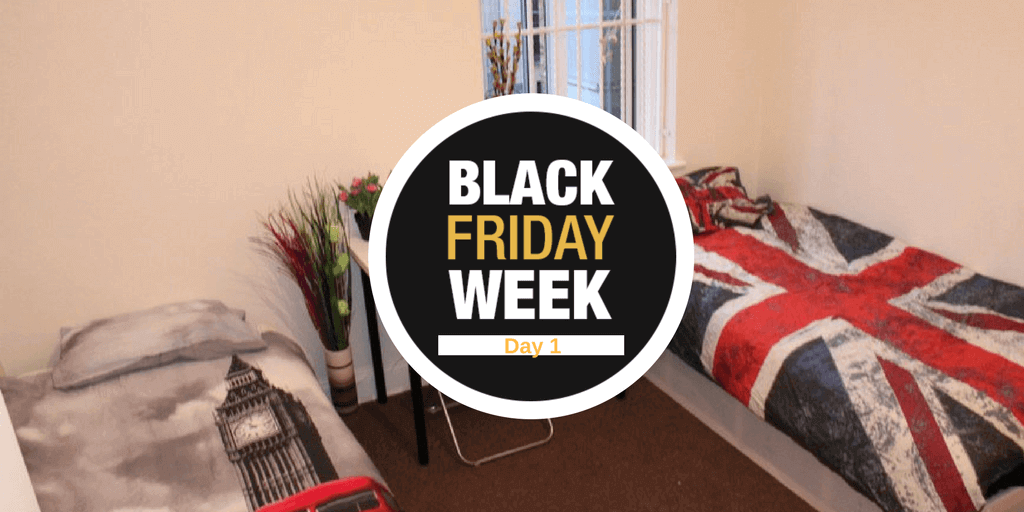 Black Friday Week – Día 1- Alojamiento gratis en Londres
