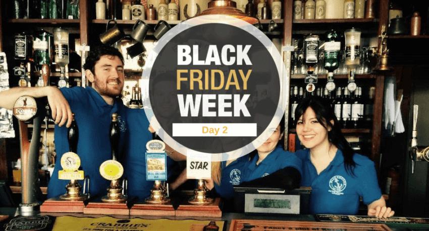 Black Friday - Oferta trabajo en Londres
