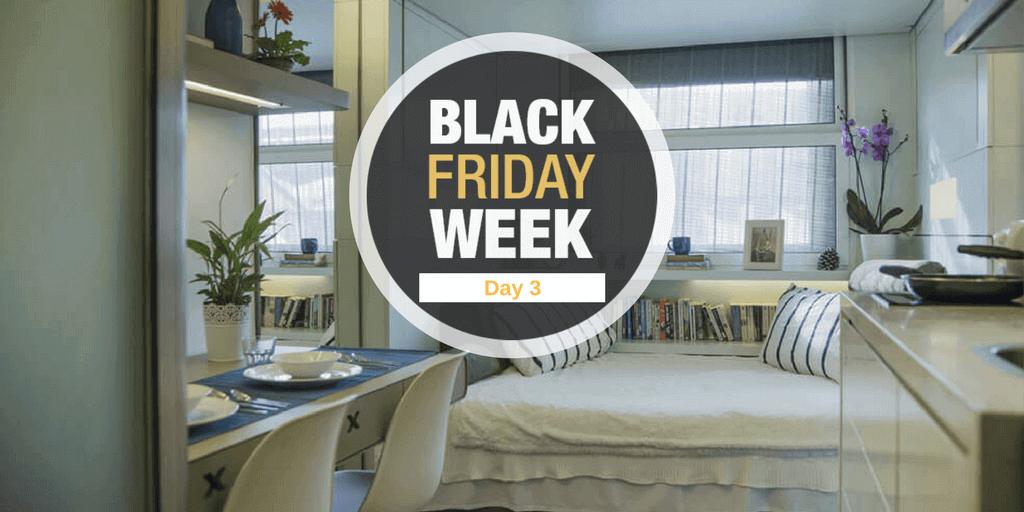 Black Friday Week – Día 3- Descuentos en residencias de estudiantes