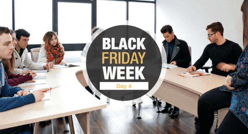 Black Friday - Curso de inglés en Londres gratis