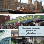 7 Cosas que No puedes Perderte en Londres y sus Precios