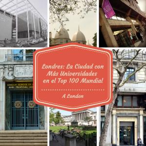Londres La Ciudad con Más Universidades (1)