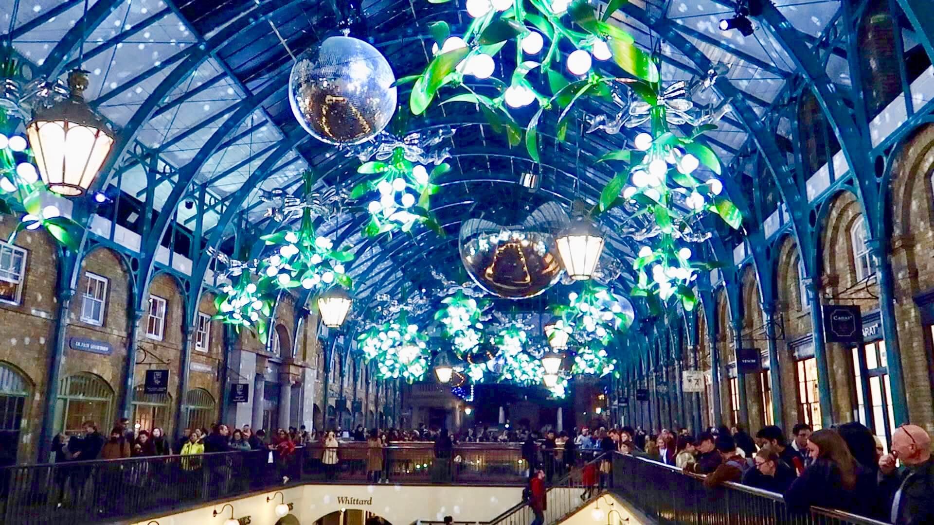Covent Garden en Navidad