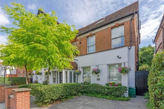 Estudios en Finchley Road