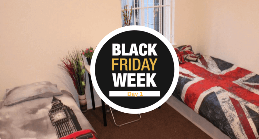 Semana Black Friday - Alojamiento gratis en Londres