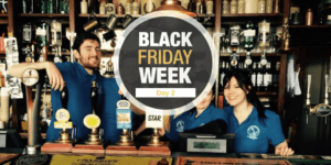 Black Friday - Oferta trabajo en Londres