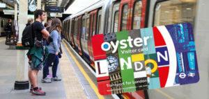 Comprar Oyster Card de visitante