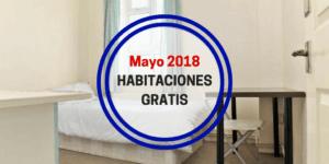 Habitaciones Gratis Mayo 18