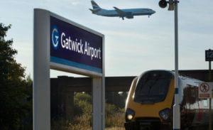 Tren de cercanías Gatwick Londres