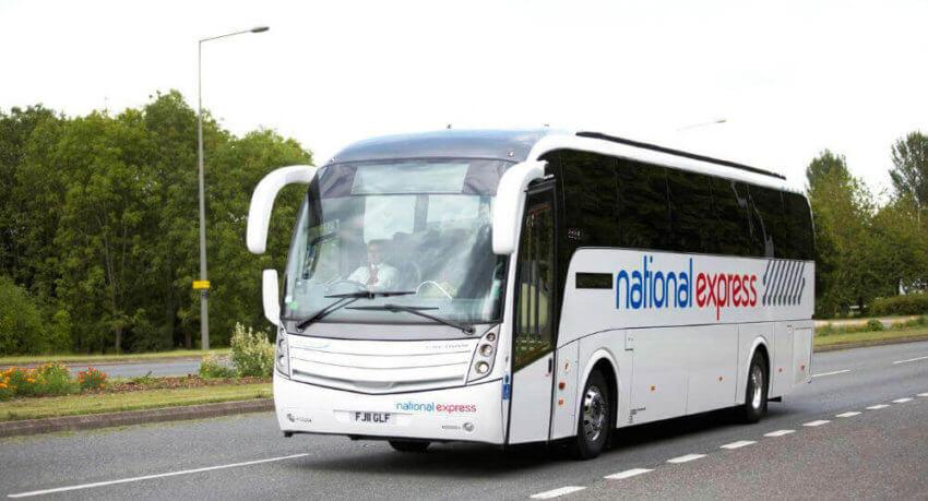 Autobús desde el aeropuerto al centro de Londres