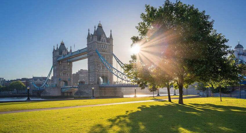 Habitaciones en Londres en verano