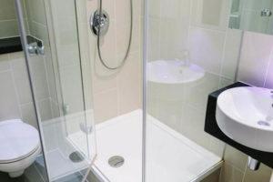 Baño en Estudio, Residencia Aldgate East