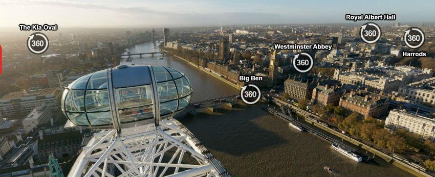 Visita virtual a Londres