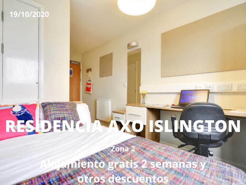 Descuentos residencia Axo Islington Londres