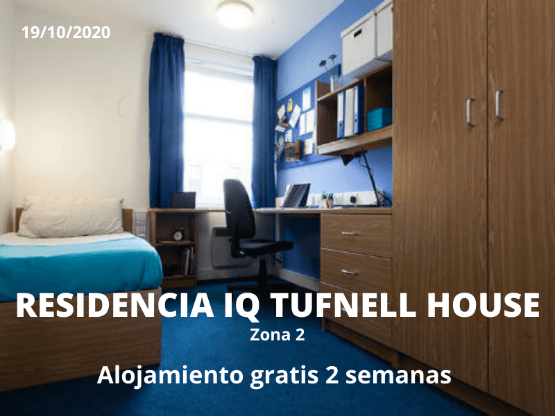 Descuentos residencia IQ Tufnell Park Londres